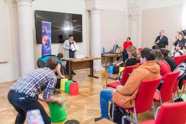 An interactive program organized by the Centre for Administration and Operations of the Czech Academy of Sciences in Prague, Czech Republic