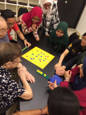 A youth engagement program to reach older adults with dementia organized by the Department of Biomedical Science, Faculty of Medicine, University of Malaya in Malaysia