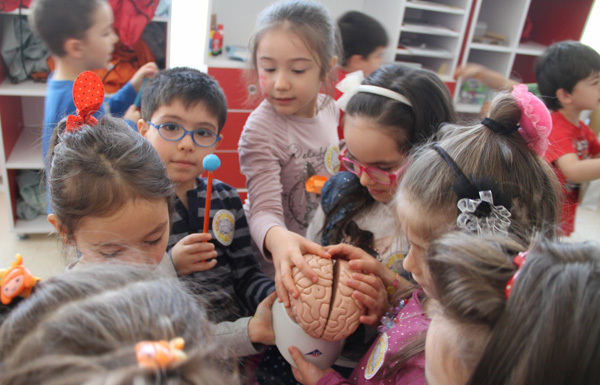 ESOGÜ Preschool Children and BAW-2015. Photo: Hakan Koç. Turkey