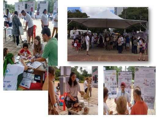 Various BAW activities organized by the Federal University of Rio Grande do Sul in Brazil