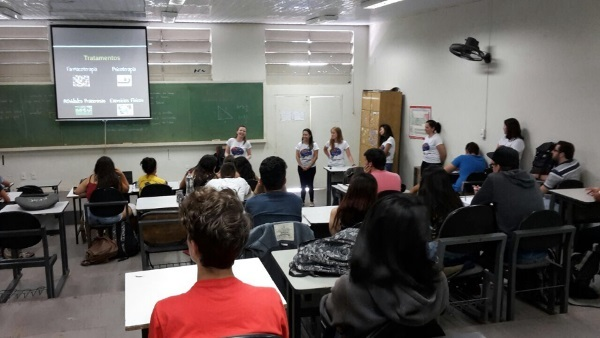 A presentation organized by the Federal University of São Carlos - UFSCar in Brazil