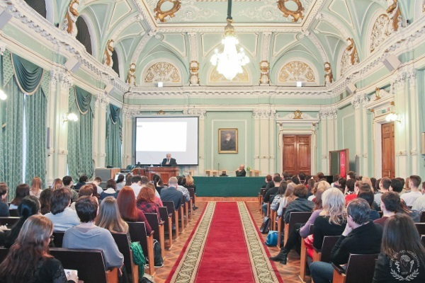 BAW opening lecture at the Pavlov Institute of Physiology organized by First Pavlov State Medical University in Russia
