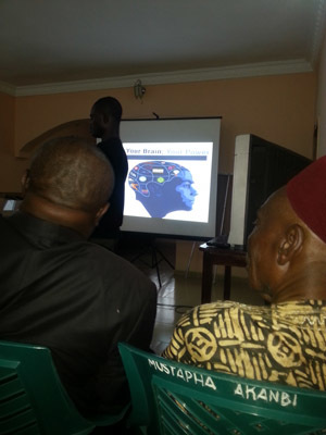 Dr. L.A. Olatunji's lecture during Ilorin Brain Awareness Week 2015 in Nigeria