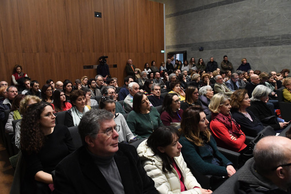 A full audience at an event organized by IMT School for Advanced Studies in Lucca, Italy