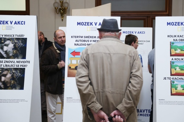 Poster presentation of the Brain in Action (Mozek V Akci) organized by the Institute of Experimental Medicine ASCR in the Czech Republic