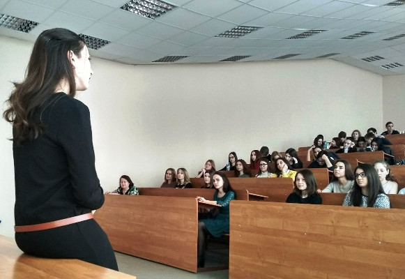 A presentation organized by Kazan State University in Russia