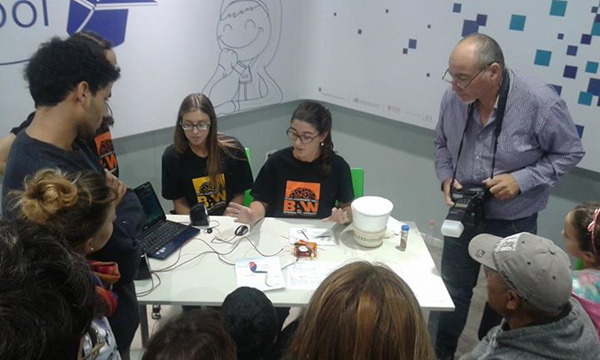 BAW hosted by students from the Laboratorio de Electrofisiología y Laboratorio Neurofisiología, Instituto Multidisciplinario de Biología Celular in Argentina