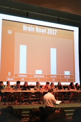 Students participate in Brain Bowl 2017, organized by Loma Linda Academy in California