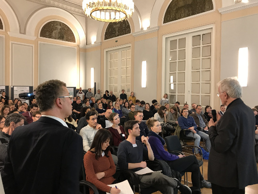 A public lecture organized by MindBrainBody in Berlin, Germany