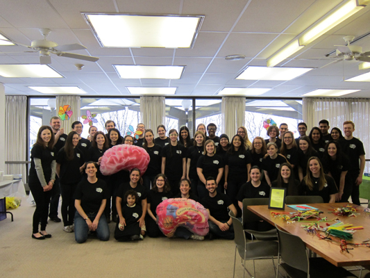 Happy Brain Awareness Week 2015 from Moravian College in PA