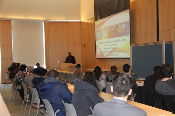 A talk that was part of a lecture series organized by SUNY Old Westbury in New York