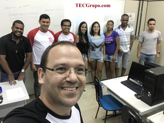 Participants in BAW activities organized by TECGrupo.Com (UFF-Padua) in Brazil