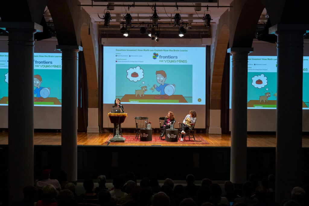 """A presentation on """"Our Brain on AI"""" organized by the The Cooper Union School of Engineering."""