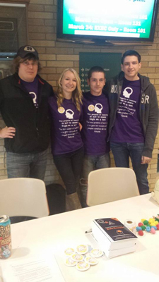 Brain Awareness Week at UW Marshfield Wood County in Wisconsin, USA