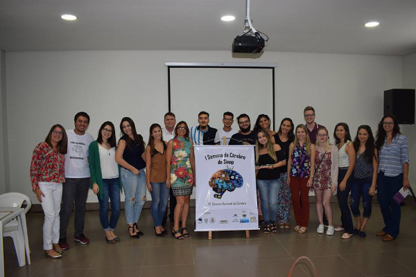 Brain Awareness Week at the Universidade Federal de Mato Grosso-Sinop in Brazil
