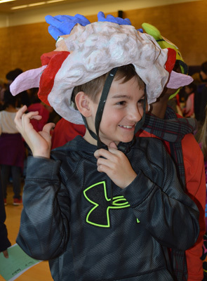 Homunculus hat at the 2015 University of Washington BAW Open House