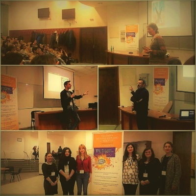 My Curious Brain event organized by University of Bucharest in Romania