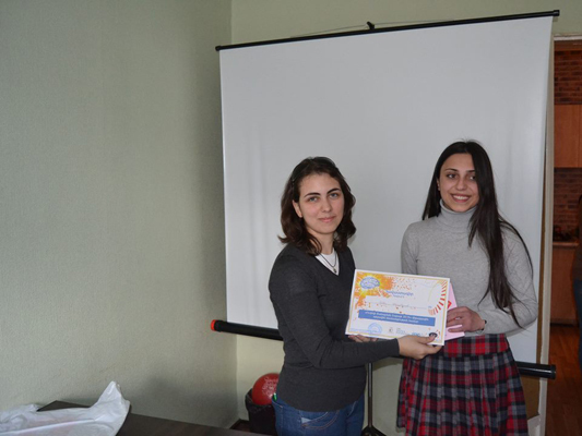 Young Biologists Association NGO host BAW in Armenia