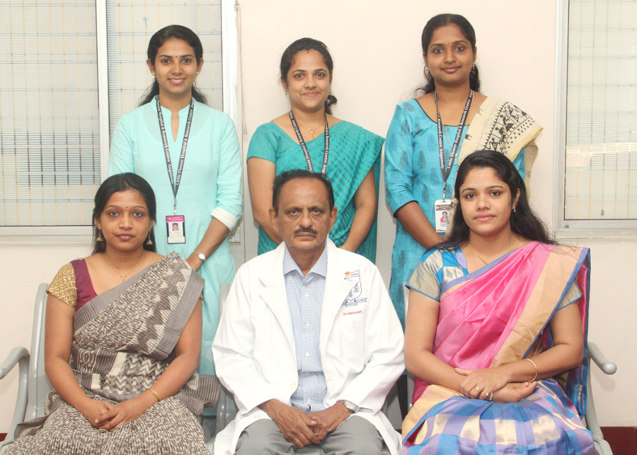 Participants in a BAW event organized by Little Flower Medical Research Centre, LFMRC in Angamaly, India.