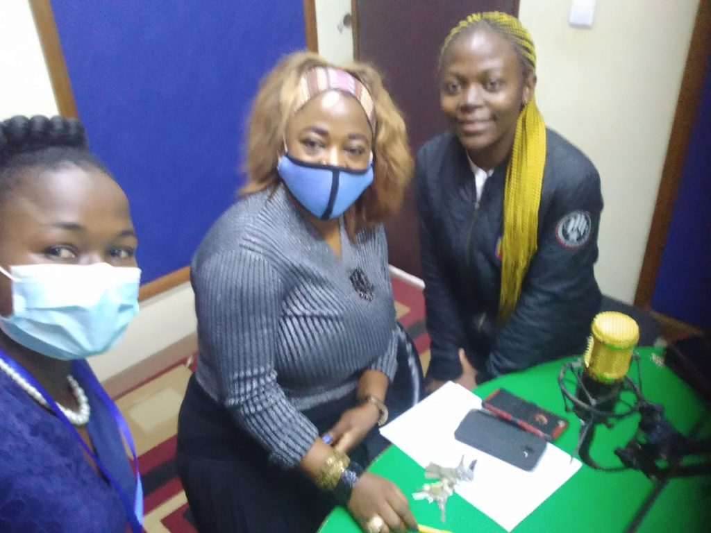 Radio show organized by Epilepsy Awareness and Aid Foundation in Cameroon.