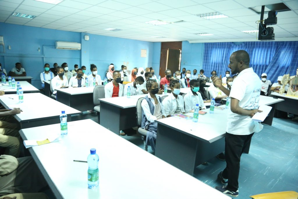 Lecture for high school students organized by Arba Minch University in Ethiopia.