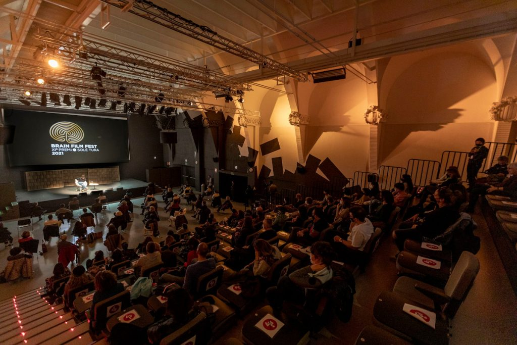 Event in the main theater organized by Brain Film Fest in Spain.