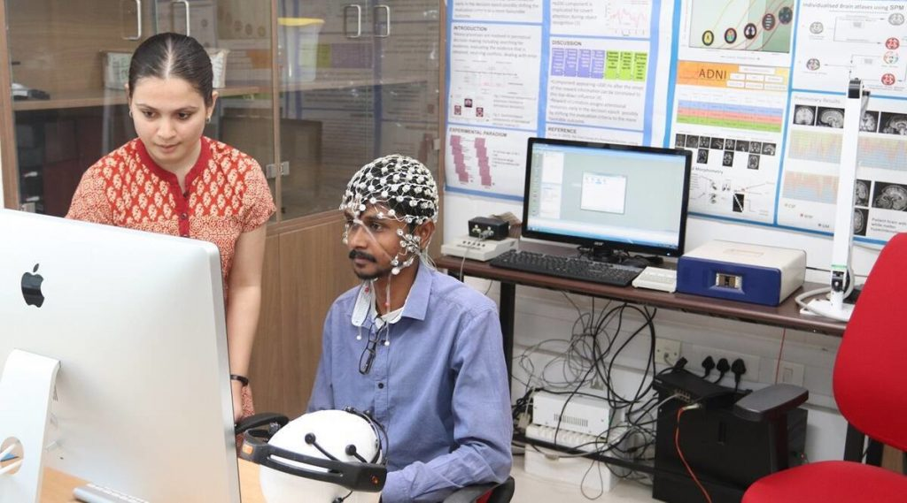 Event at the Centre for Cognitive and Brain Sciences organized by the Indian Institute of Technology, Gandhinagar in India.